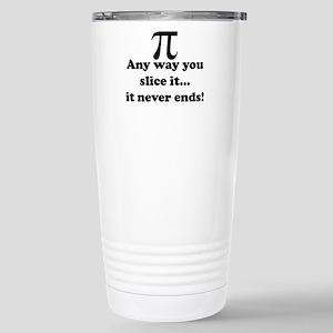 Blackberry Pi Stainless Steel Travel Mug
