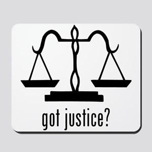 Justice Mousepad