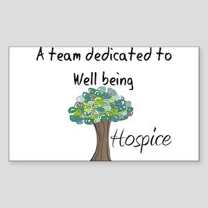 Hospice II Sticker (Rectangle 10 pk)