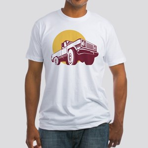 pick-up truck Fitted T-Shirt