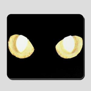 Glowing Eyes Mousepad