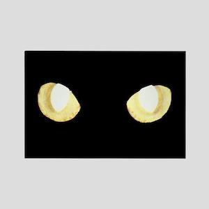 Glowing Eyes Rectangle Magnet
