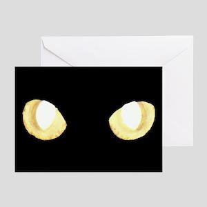 Glowing Eyes Greeting Cards (Pk of 10)
