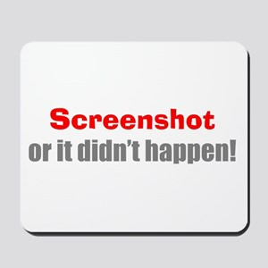 Screenshot Mousepad