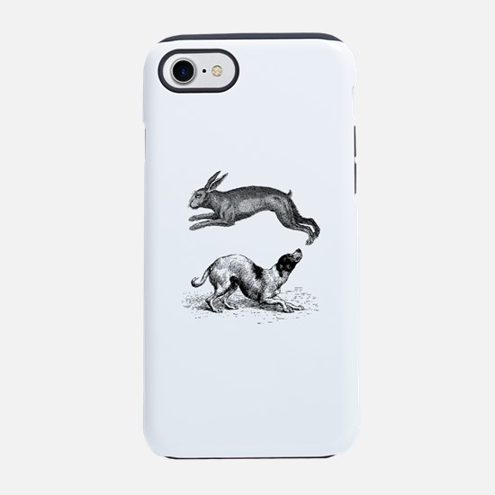 hound and hare iPhone 7 Tough Case
