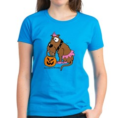 Dog Anything For Candy Women's Dark T-Shirt