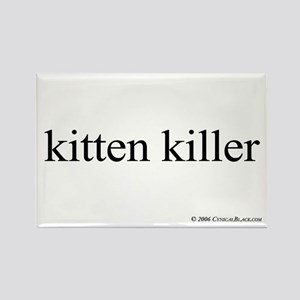 Kitten Killer Rectangle Magnet