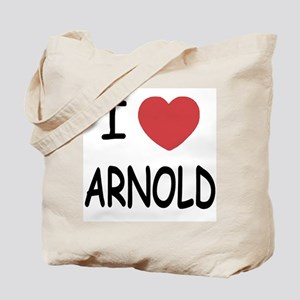 I heart Arnold Tote Bag