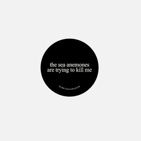 Anemone Paranoia Mini Button