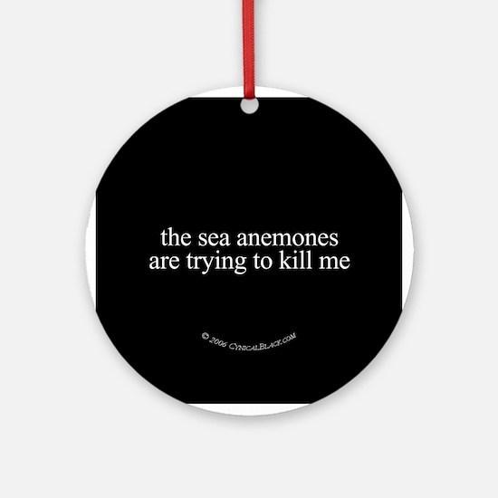 Anemone Paranoia Ornament (Round)