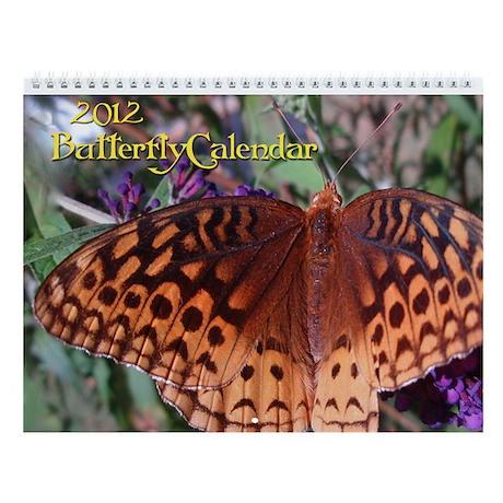 2013 Butterfly Wall Calendar