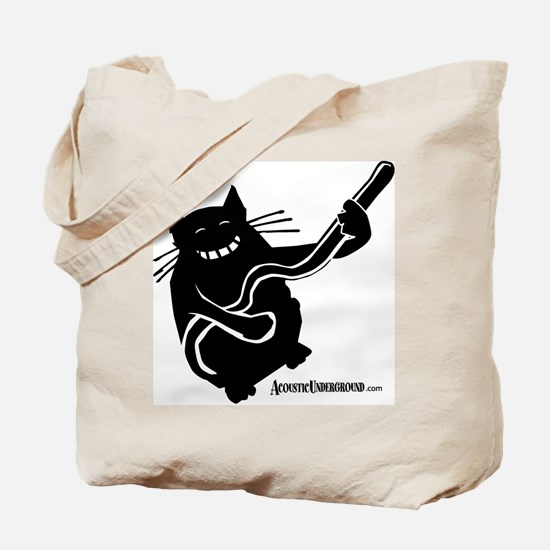Acoustic Underground Tote Bag