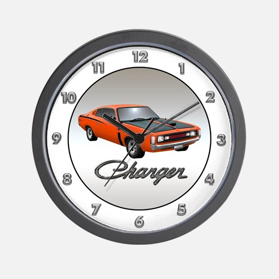 Australian Charger Wall Clock