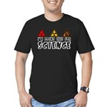 For Science Men's Fitted T-Shirt (dark)