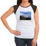 Red Rock Country Women's Cap Sleeve T-Shirt
