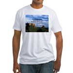 Red Rock Country Fitted T-Shirt