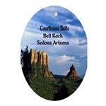 Red Rock Country Ornament (Oval)