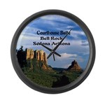 Red Rock Country Large Wall Clock