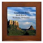 Red Rock Country Framed Tile