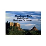 Red Rock Country Rectangle Magnet