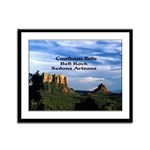 Red Rock Country Framed Panel Print