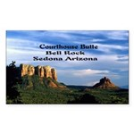 Red Rock Country Sticker (Rectangle)