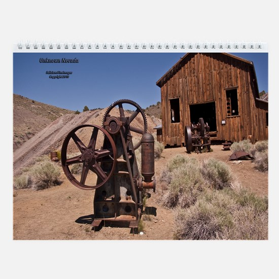 Unique Nevada Wall Calendar