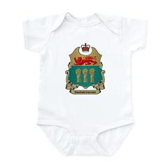Saskatchewan Shield Infant Creeper