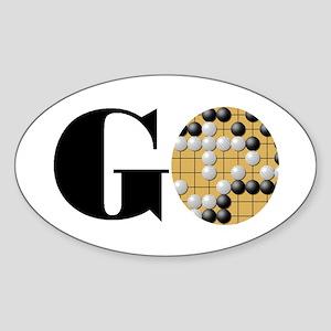 Go Word Sticker (Oval)