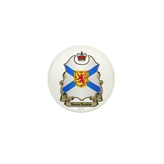 Nova Scotia Shield Mini Button (10 pack)