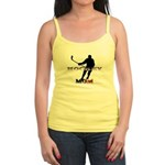 Hockey Mom Jr. Spaghetti Tank