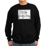 100% Cruelty Free Sweatshirt (dark)