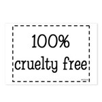 100% Cruelty Free Postcards (Package of 8)