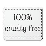 100% Cruelty Free Mousepad