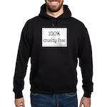 100% Cruelty Free Hoodie (dark)