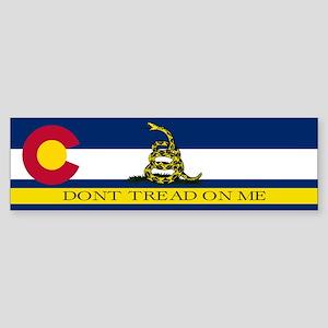 Dont Tread on Me Colorado Sticker (Bumper)