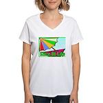 Travel Club Women's V-Neck T-Shirt
