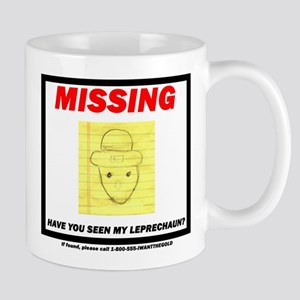 Missing Leprechaun Mug