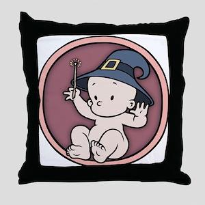 Halloween Magic Inside Throw Pillow