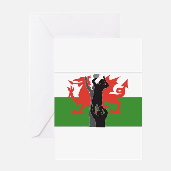 Welsh rugby union greeting cards cafepress rugby wales greeting card m4hsunfo