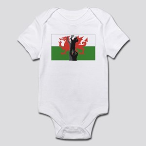 Rugby wales Infant Bodysuit