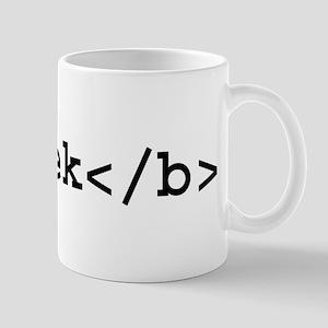 Boldly Geek Mug