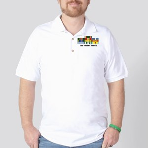 USS Valley Forge Golf Shirt