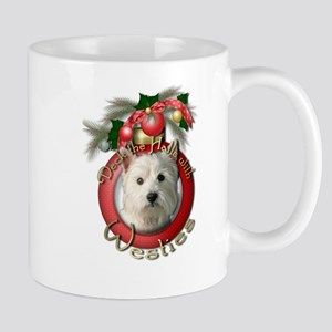 Christmas - Deck the Halls - Westies Mug