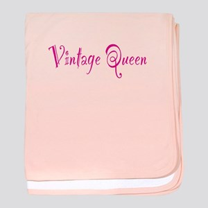 Vintage Queen Infant Blanket