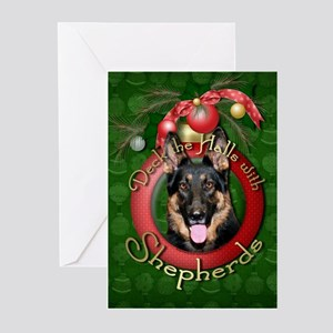 Christmas - Deck the Halls - Shepherds Greeting Ca