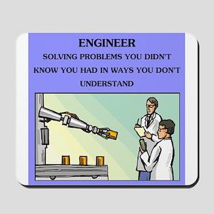 funny engineering joke Mousepad
