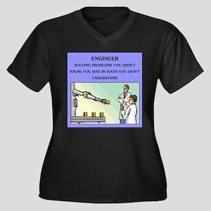 funny engineering joke Women's Plus Size V-Neck Da