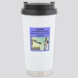 funny engineering joke Stainless Steel Travel Mug