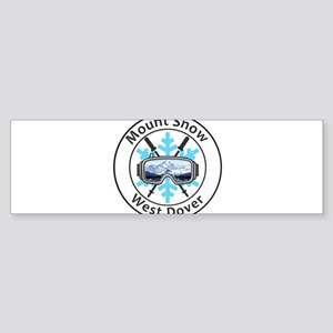 Mount Snow - West Dover - Vermont Bumper Sticker